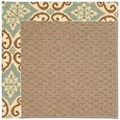 Capel Rugs Creative Concepts Raffia - Shoreham Spray (410) Rectangle 8