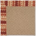 Capel Rugs Creative Concepts Raffia - Java Journey Henna (580) Rectangle 8