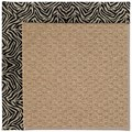 Capel Rugs Creative Concepts Raffia - Wild Thing Onyx (396) Rectangle 8