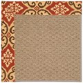 Capel Rugs Creative Concepts Raffia - Shoreham Brick (800) Rectangle 8