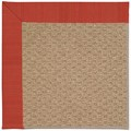 Capel Rugs Creative Concepts Raffia - Vierra Cherry (560) Rectangle 9