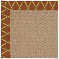 Capel Rugs Creative Concepts Raffia - Bamboo Cinnamon (856) Rectangle 9