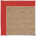 Capel Rugs Creative Concepts Raffia - Dupione Crimson (575) Rectangle 12