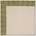 Capel Rugs Creative Concepts White Wicker - Dream Weaver Marsh (211) Octagon 4