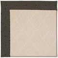 Capel Rugs Creative Concepts White Wicker - Fortune Lava (394) Octagon 4