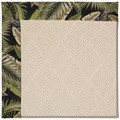 Capel Rugs Creative Concepts White Wicker - Bahamian Breeze Coal (325) Octagon 6
