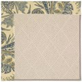 Capel Rugs Creative Concepts White Wicker - Cayo Vista Ocean (425) Octagon 8