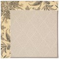 Capel Rugs Creative Concepts White Wicker - Cayo Vista Graphic (315) Octagon 10