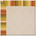 Capel Rugs Creative Concepts White Wicker - Kalani Samba (224) Octagon 12