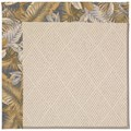 Capel Rugs Creative Concepts White Wicker - Bahamian Breeze Ocean (420) Octagon 12