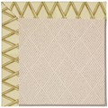 Capel Rugs Creative Concepts White Wicker - Bamboo Rattan (706) Octagon 12