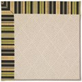 Capel Rugs Creative Concepts White Wicker - Vera Cruz Coal (350) Runner 2