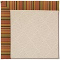 Capel Rugs Creative Concepts White Wicker - Tuscan Stripe Adobe (825) Runner 2