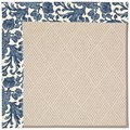 Capel Rugs Creative Concepts White Wicker - Batik Indigo Blue (415) Runner 2