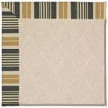 Capel Rugs Creative Concepts White Wicker - Long Hill Ebony (340) Rectangle 3