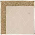 Capel Rugs Creative Concepts White Wicker - Tampico Rattan (716) Rectangle 4