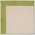 Capel Rugs Creative Concepts White Wicker - Tampico Palm (226) Rectangle 6