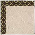 Capel Rugs Creative Concepts White Wicker - Lenox Pear (171) Rectangle 7