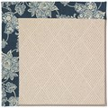 Capel Rugs Creative Concepts White Wicker - Bandana Indigo (465) Rectangle 7