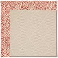 Capel Rugs Creative Concepts White Wicker - Imogen Cherry (520) Rectangle 7