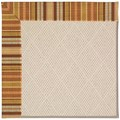 Capel Rugs Creative Concepts White Wicker - Vera Cruz Samba (735) Rectangle 7