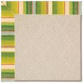 Capel Rugs Creative Concepts White Wicker - Kalani Fresco (239) Rectangle 8