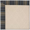 Capel Rugs Creative Concepts White Wicker - Vera Cruz Ocean (445) Rectangle 8