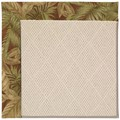 Capel Rugs Creative Concepts White Wicker - Bahamian Breeze Cinnamon (875) Rectangle 8