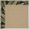 Capel Rugs Creative Concepts Sisal - Bahamian Breeze Coal (325) Octagon 6