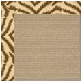 Capel Rugs Creative Concepts Sisal - Couture King Chestnut (756) Octagon 6