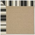Capel Rugs Creative Concepts Sisal - Down The Lane Ebony (370) Octagon 8