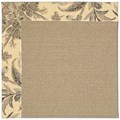 Capel Rugs Creative Concepts Sisal - Cayo Vista Graphic (315) Octagon 10