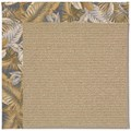 Capel Rugs Creative Concepts Sisal - Bahamian Breeze Ocean (420) Octagon 12