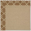 Capel Rugs Creative Concepts Sisal - Arden Chocolate (746) Octagon 12
