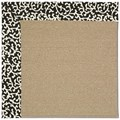 Capel Rugs Creative Concepts Sisal - Coral Cascade Ebony (385) Rectangle 5