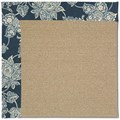 Capel Rugs Creative Concepts Sisal - Bandana Indigo (465) Rectangle 7