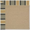 Capel Rugs Creative Concepts Sisal - Long Hill Ebony (340) Rectangle 8