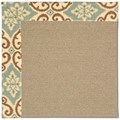 Capel Rugs Creative Concepts Sisal - Shoreham Spray (410) Rectangle 8