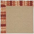 Capel Rugs Creative Concepts Sisal - Java Journey Henna (580) Rectangle 8