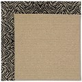 Capel Rugs Creative Concepts Sisal - Wild Thing Onyx (396) Rectangle 8