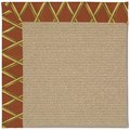 Capel Rugs Creative Concepts Sisal - Bamboo Cinnamon (856) Rectangle 9