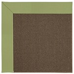 Capel Rugs Creative Concepts Java Sisal - Canya Citron (213) Octagon 4' x 4' Area Rug