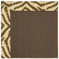 Capel Rugs Creative Concepts Java Sisal - Couture King Chestnut (756) Octagon 6