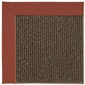 Capel Rugs Creative Concepts Java Sisal - Canvas Brick (850) Octagon 6