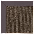 Capel Rugs Creative Concepts Java Sisal - Fife Plum (470) Octagon 8