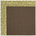 Capel Rugs Creative Concepts Java Sisal - Coral Cascade Avocado (225) Octagon 10