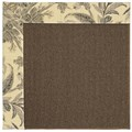 Capel Rugs Creative Concepts Java Sisal - Cayo Vista Graphic (315) Octagon 10