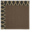 Capel Rugs Creative Concepts Java Sisal - Bamboo Coal (356) Octagon 10
