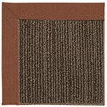 Capel Rugs Creative Concepts Java Sisal - Linen Chili (845) Octagon 10
