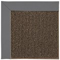 Capel Rugs Creative Concepts Java Sisal - Canvas Charcoal (355) Octagon 12